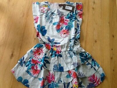 Catimini Girls 2 Part Dress with Long Sleeve T-Shirt 12 years BNWT