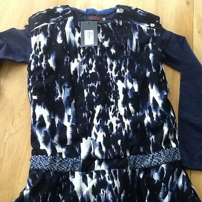 Catimini Girls 2 Part Dress with Long Sleeve T-Shirt 10 years BNWT