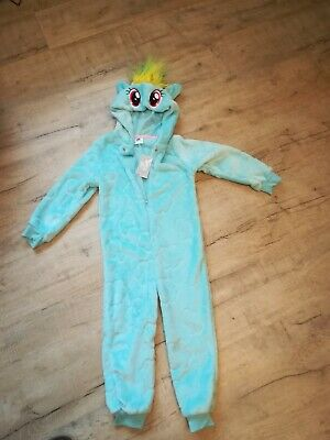 My little pony blue fleece all in one leisure pyjama new 4 years Xmas gift