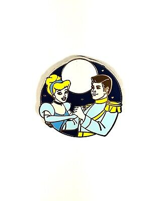 Disney Parks Couples Mystery Pin Set Prince Charming and Cinderella Pin New