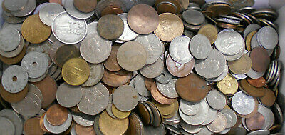 #8. About 4.5  Kilograms  Of World  Coins, Well Over 500 Coins, No Silver