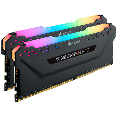 Corsair Vengeance PRO 32GB 2x16GB DDR4-3200Mhz RGB CL16 Desktop Memory RAM Kit