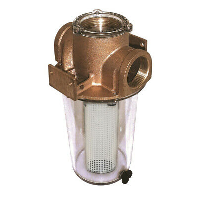 """STRAINER BASKET GROCO 34 BS7 SS85G FITS ARG2015 LENGTH 7.88/"""" SCREEN S//S ARG BOAT"""