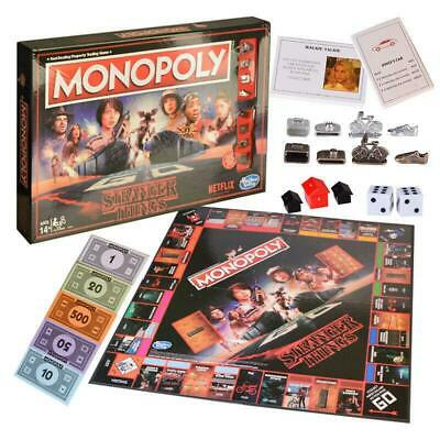 Stranger Things Monopoly Board Game Eleven Mike Dustin Lucas Will Hopper