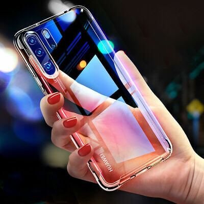 Transparent Phone Case Soft Silicone Cover Shockproof For Huawei P30 Pro Mate 20
