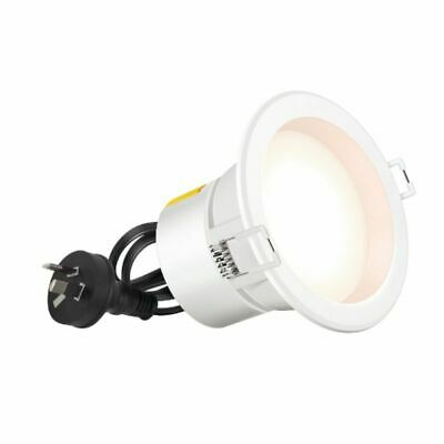 Hpm Dli Led 7W Downlight Cool White White Finish 90Mm Cut Out
