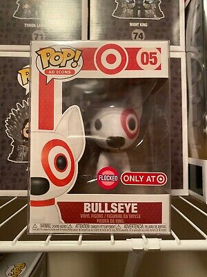 Funko Pop! Ad Icons Flocked Bullseye Target #05 Exclusive