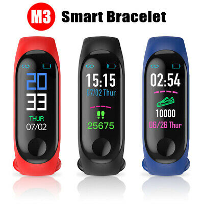 Smart Watch Monitor Bracelet Wristband Blood Pressure Heart Rate for iOS Android