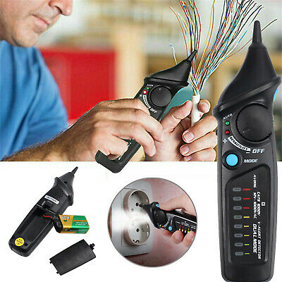 12-1000V Non-contact Voltage Electric Detector Test Pen LED Live-Wire Check Pen