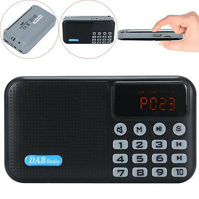 Rechargeable Battery Bluetooth DAB / DAB+ Digital Radio Portable with FM UK