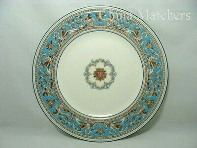 Wedgwood Florentine Turquoise 10 3/4 Inch Dinner Plate - 1st Quality Excellent