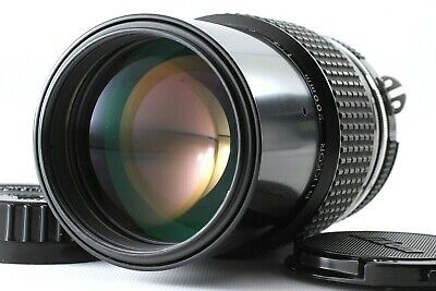 【Near Mint 】Nikon Ai Nikkor 200mm f/4 MF Lens  from Japan #1212