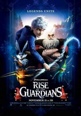 RISE OF THE GUARDIANS original 27x40 D/S movie poster LAST ONE (lo2)