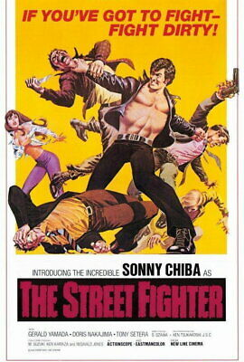 65883 The Street Fighter Movie Sonny Chiba Wall Print POSTER AU