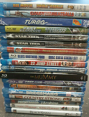 *Brand New Large Quantity BluRay; Pick and Choose Lot 8.00-10.00