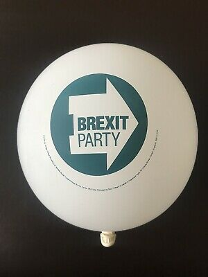 Brexit Party Official Balloons x 10 with Brexit Party Logo New!