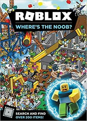 Roblox: Where's the Noob? HARDCOVER – 2019 by Official Roblox