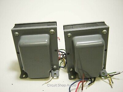 Pair of NOS Ampex 6550 Power Transformers / 710-2107-04 -- KT