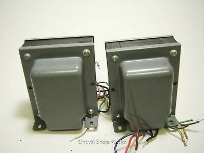 Pair of NOS Ampex 6550 output Transformers / 710-2107-04 -- KT