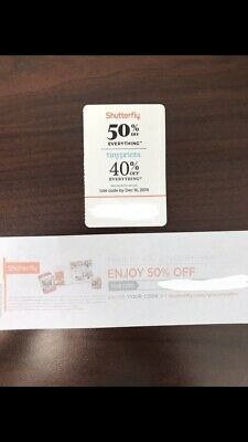 Shutterfly Coupon Lot: Two 50% Off Coupons, One 40% Off Tinyprints 📸 🎁