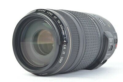 Canon Zoom Lens EF 70-300mm f/4-5.6 IS USM Telephoto Zoom Lens  #P5558