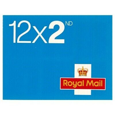 120 Royal mail10 books of 12 self adhesive second class stamps