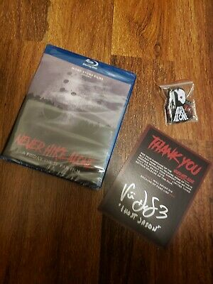 Never Hike Alone A Friday the 13th Fan Film Blu-ray AUTOGRAPHED & Pin Set Jason