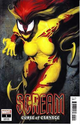 Scream Curse Of Carnage #1 Variant Artgerm Stanley Lau Absolute Venom