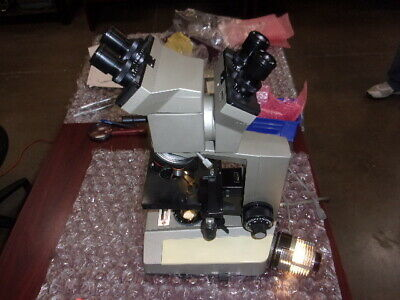 Olympus  BHB  BH Microscope -DUAL HEAD- 2-LIGHT SOURCE- EXTRAS INCLUDED