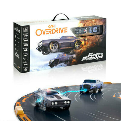 Anki OverDrive Fast & Furious RC/Remote Controlled Car Starter Kit f/ Smartphone