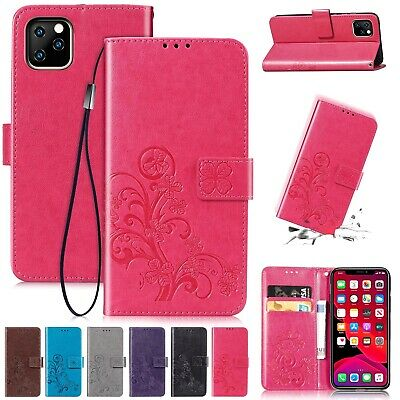 For iPhone 11 Pro Max XS XR 8 Plus Case Pattern Leather Wallet Stand Flip Cover