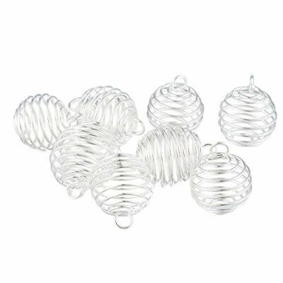 Lantern Spring Bead Cages 9mm//15mm Silver,Gold R0182