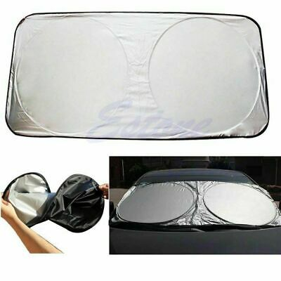 Auto Car Front Rear Window Foldable Visor Sun Shade Windshield Cover New Bl J1X9