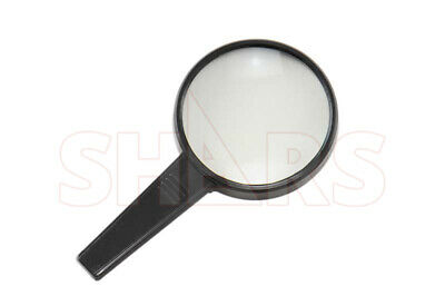 Shars 3X Round Magnifying Glass 110mm Loupe New