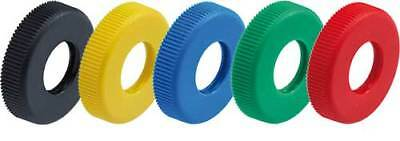 #507 Gehmann Colored push-on rings Set of 6