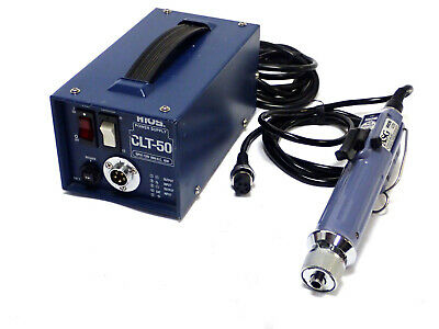 HIOS ASG SS-4000 ELECTRIC TORQUE SCREWDRIVER w/ CLT-50 POWER SUPPLY, TESTED
