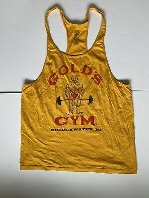 Royal Blue White- New Powerhouse Gym Stringer Tank Top in Black Red Gold