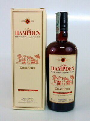 Rum The Hampden Great House Old Pure Single Jamaican Rum 59%Vol.