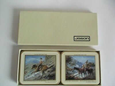 Jason Drink Coasters The Man From Snowy River Box Set Of 6