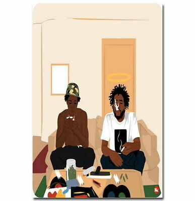 Joey Badass INSPIRED WALL ART Print Poster A4 A3 rap joey bada$$ MR ROBOT