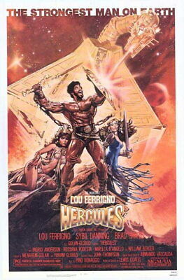 67394 Hercules Movie Lou Ferrigno ybil Danning Wall Print POSTER UK
