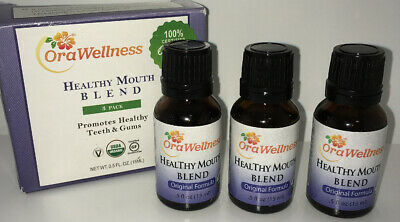 OraWellness Healthy Mouth Blend Tooth Oil, Organic Toothpaste  Mouthwash Altern