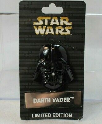 Disney Parks Pin of the Month LE 4000 Star Wars Helmet Standee Darth Vader