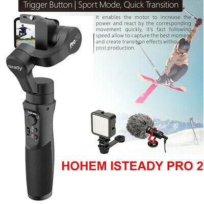 Hohem iSteady Pro 2 Handheld 3-Axis Gimbal Stabilizing Bar for DJI SONY RX0 YI