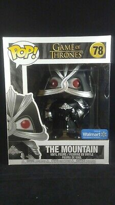 "Funko Pop 6"" Game of Thrones 78 Masked The Mountain Walmart Exclusive"