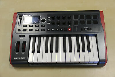 Novation Impulse 25 Keyboard (top of housing scraped; fully functional)