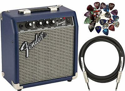 Fender Frontman 10G Guitar Amplifier - Midnight Blue w/ Instrument Cable