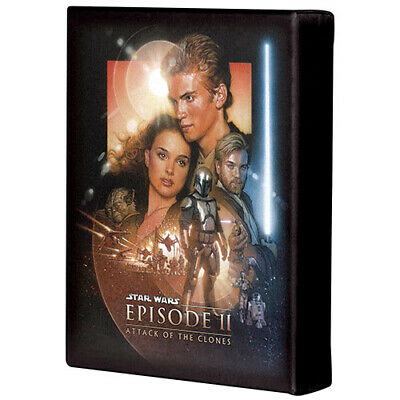 STAR WARS EPISODE 2: ATTACK OF THE CLONES CANVAS Brand New!