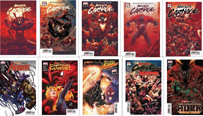 Absolute Carnage #1-5 Complete sets One-shots + Tie ins 30% off!!