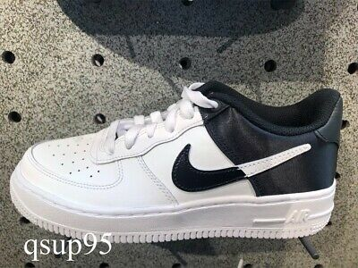 Details about Nike Air Force 1 One Low NBA White Black University Red GS Womens Size 4Y 7Y NEW